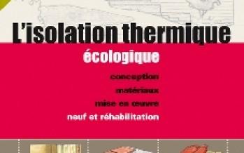 L'isolation thermique écologique