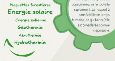 Les sources d'énergie renouvelables et non-renouvelables