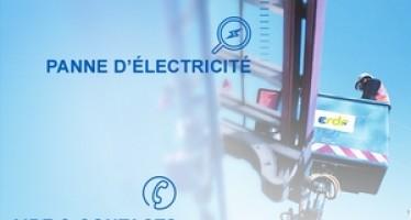 Parer aux pannes électriques grâce à l'Appli « ERDF à mes côtés »