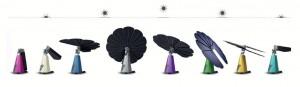 Les pétales photovoltaïques de la Smartflower suivent le soleil