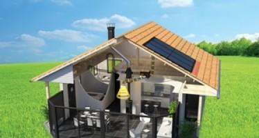 Système de distribution d'air chaud renouvelable Sunwood