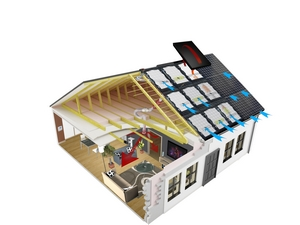 Chauffage solaire Easy Roof Boost'R