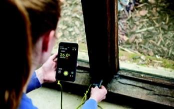 Détecteur d'humidité RPW-3000 via mobile