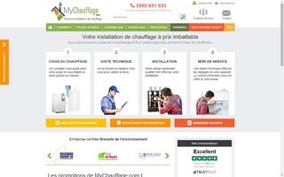 MyChauffage.com : vente et installation de chauffage par Internet