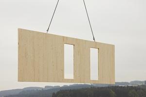 Panneau en bois massif CLT