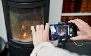 Thermomètre infrarouge RPW-2000 via smartphone