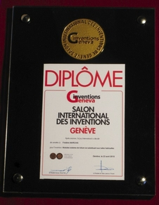 L'innovation a reçu la médaille d'or du salon international des Inventions de Genève