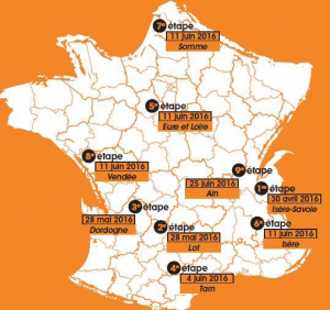Carte Pellet Cyclo Tour
