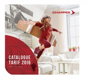 Catalogue Chappée 2016