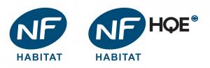 Logos NF Habitat et NF Habitat HQE