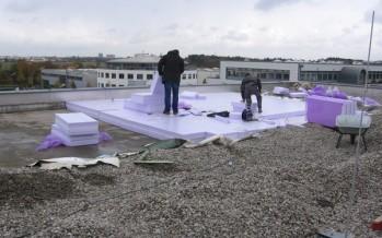 Les panneaux isolants Jackodur soumis à un test longue durée