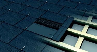 Chatière de ventilation TACV dédiée aux toits en ardoise