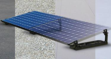 Easy Roof Flat fixe les modules photovoltaïques sur toiture plate