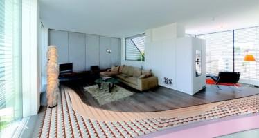Chauffage/rafraîchissement de plancher, mur et plafond Variotherm
