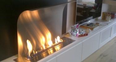 Brûleurs et cheminées éthanol Afire télécommandées