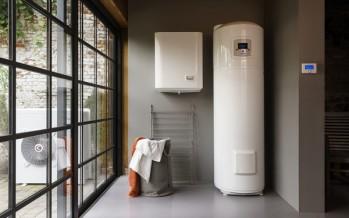 Pompes à chaleur air/eau Arianext S connectées, COP > 5