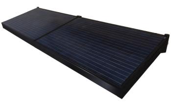 Brise-soleil photovoltaïque Marquise Solaire