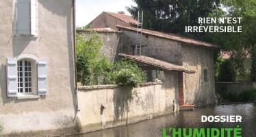 Revue Maisons Paysannes de France : l'humidité dans le bâti ancien