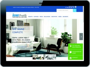 Nouvelle version du site internet d'isolants Home Pratik