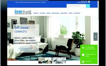 Nouvelle version du site internet d'isolants Home Pratik