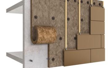Isolation des murs par l'extérieur sous bardage rapporté SmartFaçade