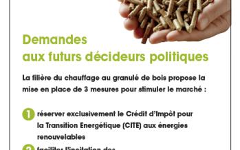 Présidentielle : Le « Livre vert » de la filière du granulé