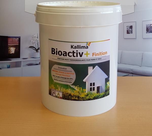 peinture thermor gulante bioactiv maison et energie. Black Bedroom Furniture Sets. Home Design Ideas