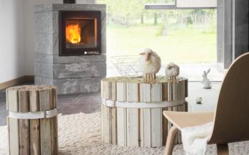 Poêle à bois modulaire Box-Ollaire à accumulation de chaleur