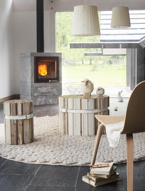 po le bois modulaire box ollaire accumulation de chaleur maison et energie. Black Bedroom Furniture Sets. Home Design Ideas