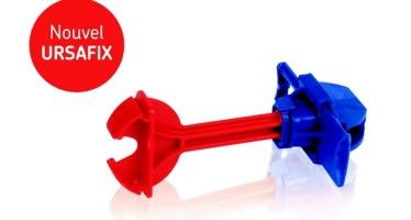 Système de fixation sur ossature métallique Ursafix