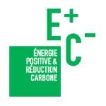 Logo label E+C-
