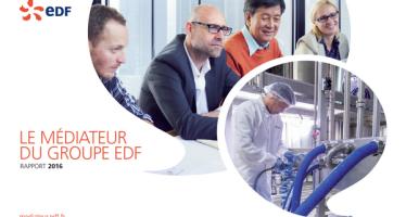 Rapport 2016 du médiateur d'EDF