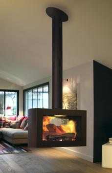 chemin e suspendue sax foyer central rotatif 360. Black Bedroom Furniture Sets. Home Design Ideas