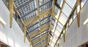 Le verre SunEwat XL produit de l'électricité