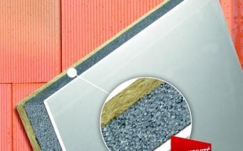 Doublage composite Polyplac Brick pour constructions en briques