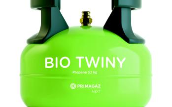 Une bouteille de biopropane nommée Bio Twiny