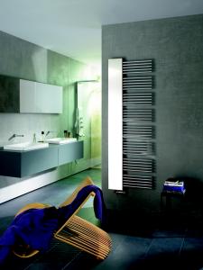 Sèche-serviette radiateur et miroir Yucca Mirror