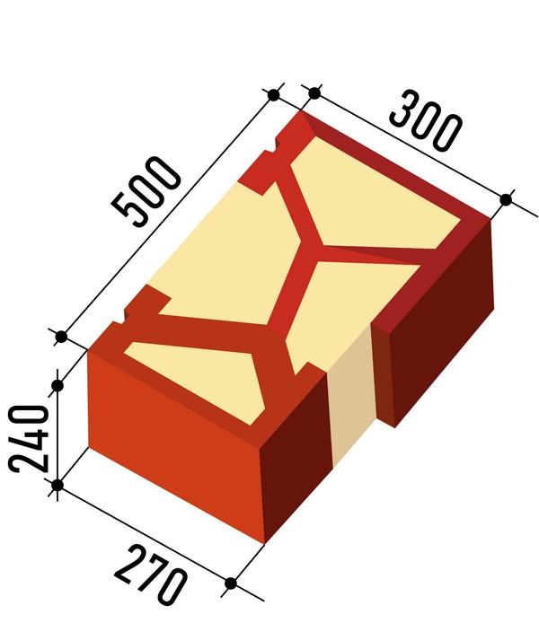 Purblok WP Demi-brique. Conçue pour façonner les ouvertures des fenêtres et des portes.DR