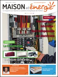Recevoir gratuitement le magazine Maison et Energie