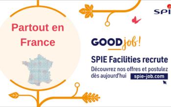 SPIE Facilities propose 150 emplois dans toute la France